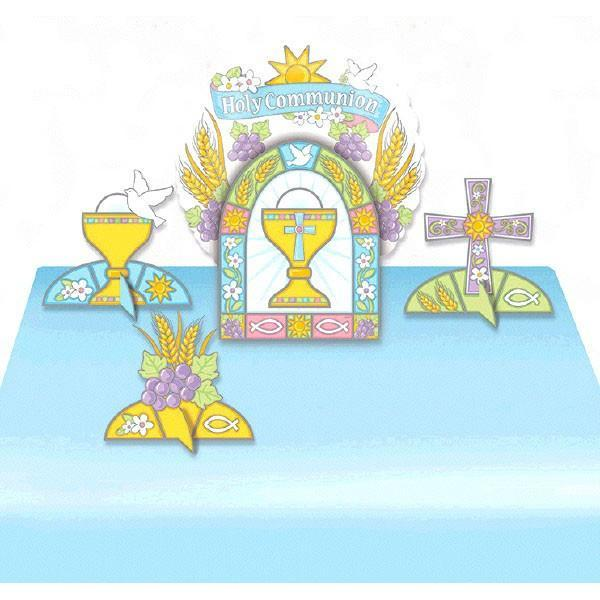 Amscan Staging Communion Balloon Centerpiece