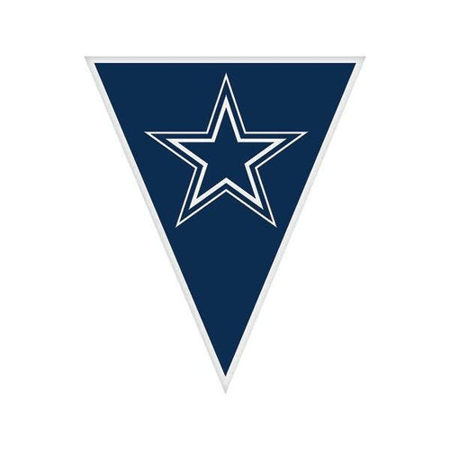 Amscan Staging Cowboys Pennant Banner