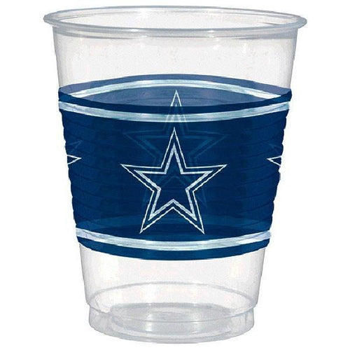 Amscan Staging Cowboys Plastic Cups 16oz