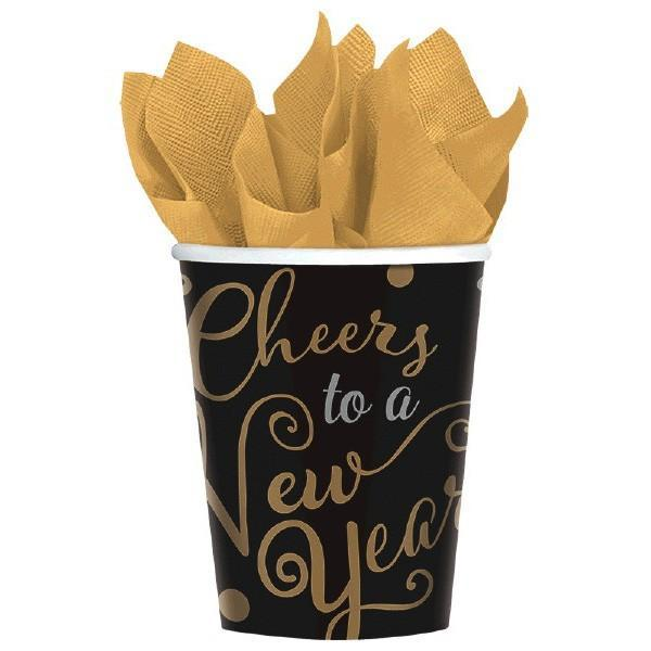 Amscan Staging Cups, 9 oz.Confetti Celebratio