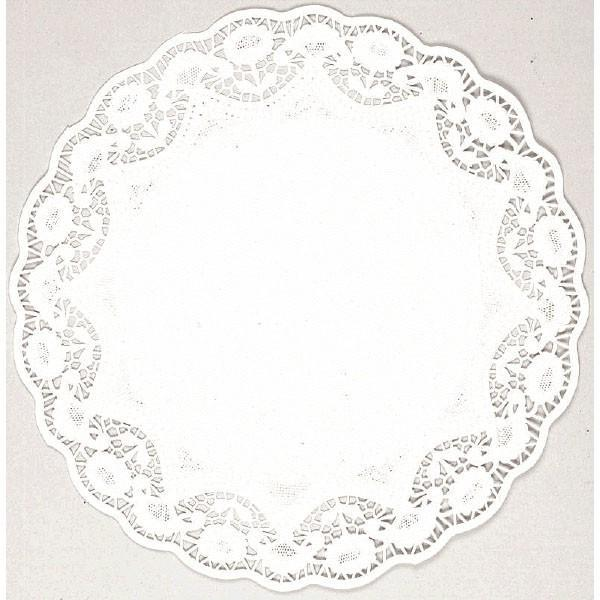 "Amscan Staging Doilies 10"" - White 10 Count"