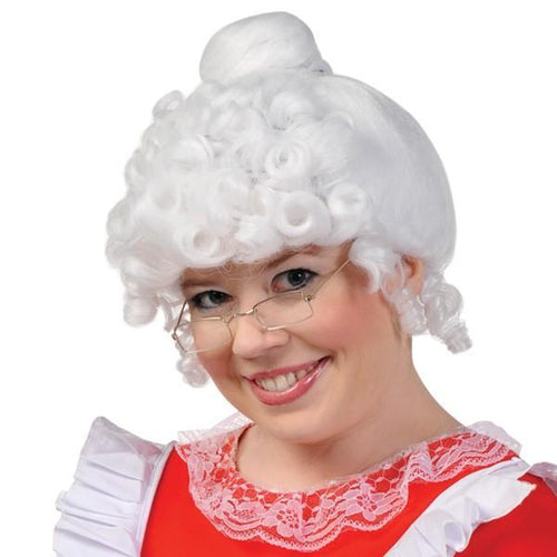 Amscan Staging Mrs. Claus Wig