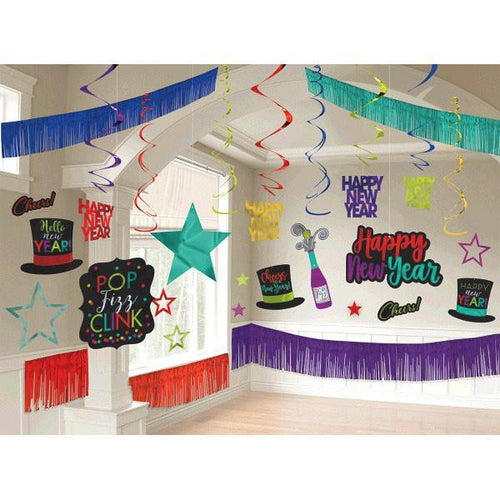 Amscan Staging New Year's Giant Room Decorati