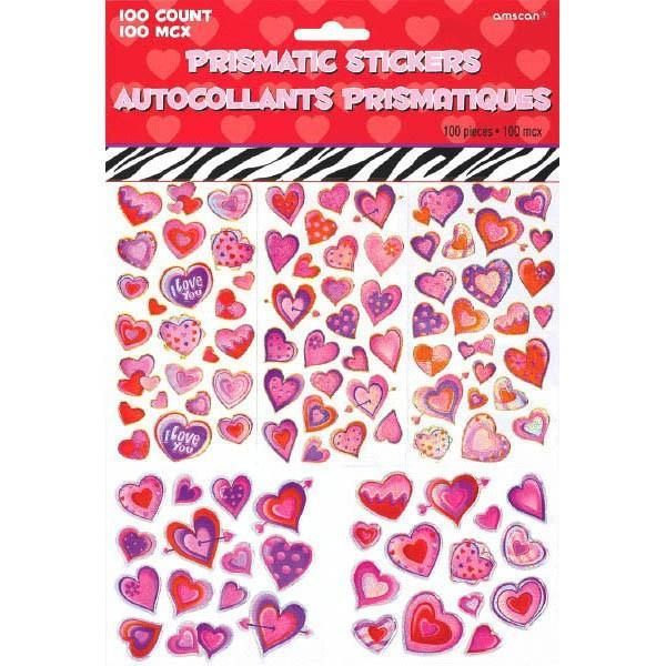 Amscan Staging Valentine's Day Prismatic Stic