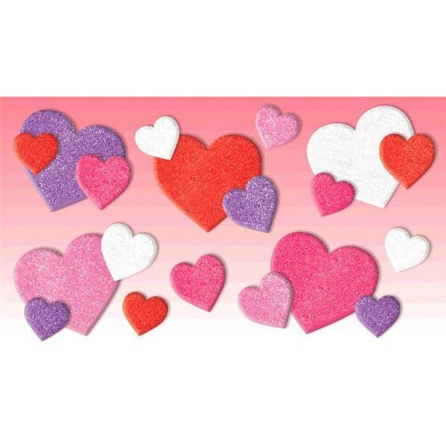 AMSCAN Valentines Valentine's Day Craft Hearts