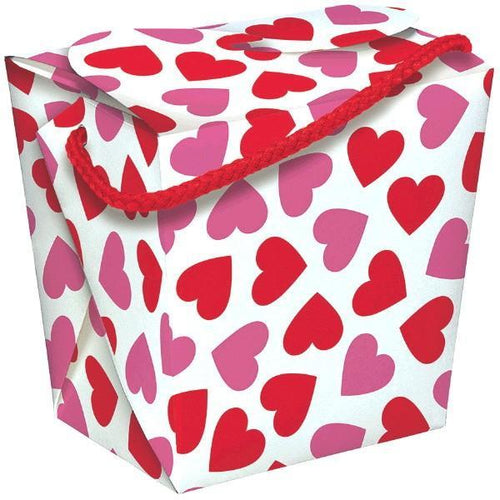 AMSCAN Valentines Valentine's Day Favor Box - Quart