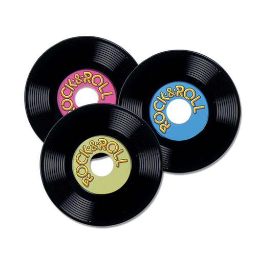 Biestle Company 50s Personalize Records 9in 3pc