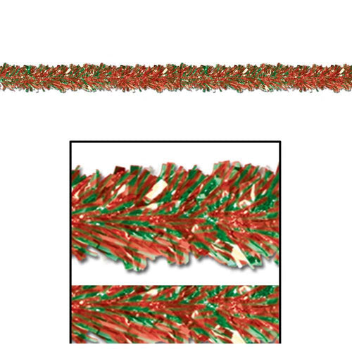 Biestle Company Decorations Red & Green Metallic Festooning Garland