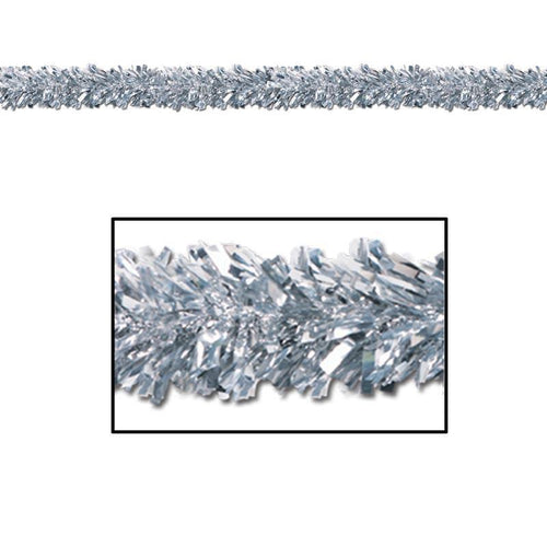 Biestle Company Decorations Silver Metallic Festooning Garland
