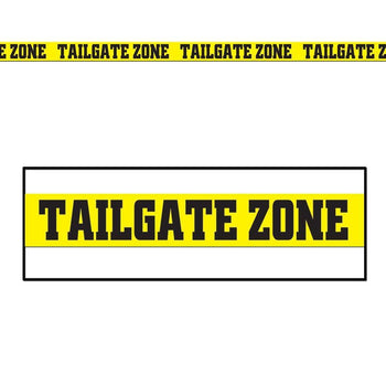 Biestle Company football Tailgate Zone Party Tape