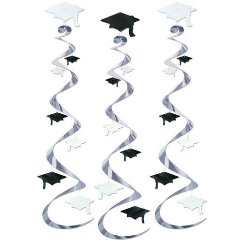 Biestle Company Graduation Graduation Cap Whirl Decorations