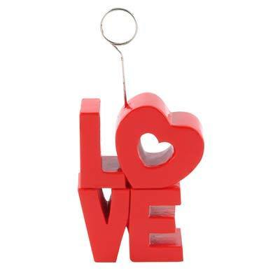 "Biestle Company Valentines ""Love"" Photo/Balloon Holder"