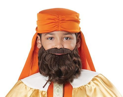 California Costumes Costume Accessories Boys Wise Man Beard & Moustache Kit