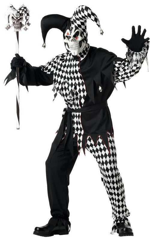 California Costumes Costume Accessories Psycho Jester Cane