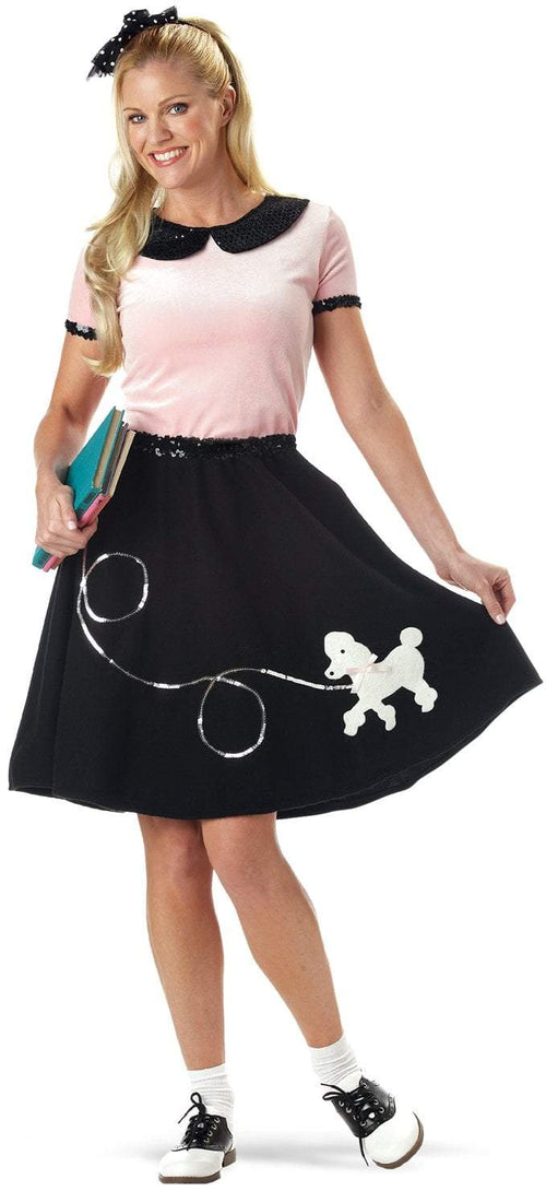 California Costumes Costumes Adult 50s Hop with Poodle Skirt Costume