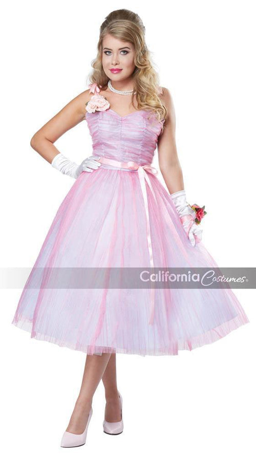 California Costumes Costumes Adult 50s Teen Angel Costume