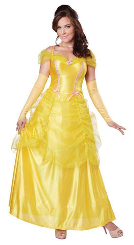 Girls Aurora Sparkle Deluxe Costume - Sleeping Beauty