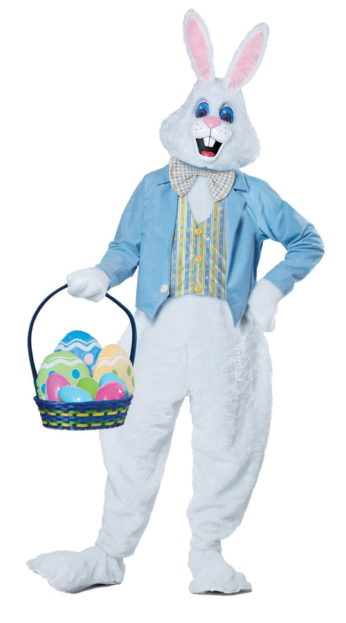 California Costumes Costumes Adult Deluxe Easter Bunny Costume