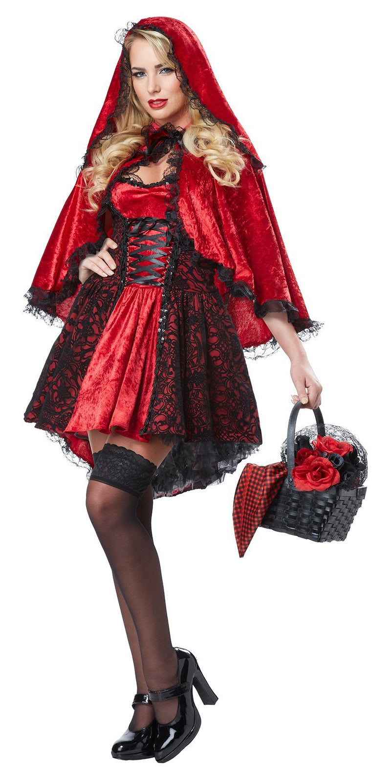 California Costumes Costumes Adult Deluxe Red Riding Hood Costume