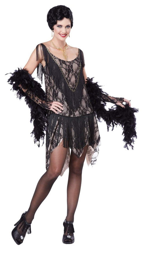 California Costumes costumes Adult Gatsby Gal Flapper Costume
