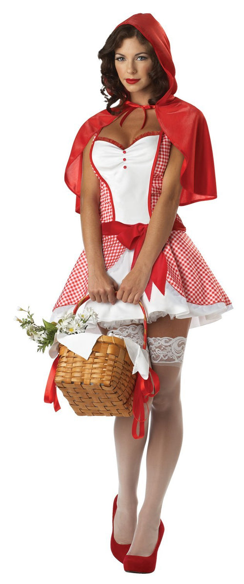 California Costumes Costumes Adult Miss Red Riding Hood Costume