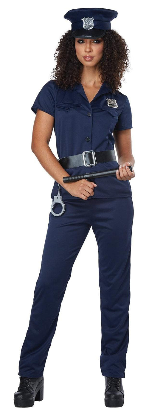 California Costumes Costumes Adult Police Woman Costume