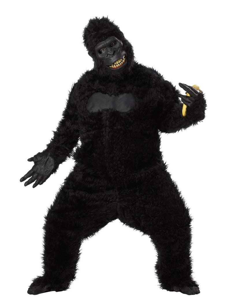California Costumes Costumes BLACK Adult Goin' Ape Gorilla Costume