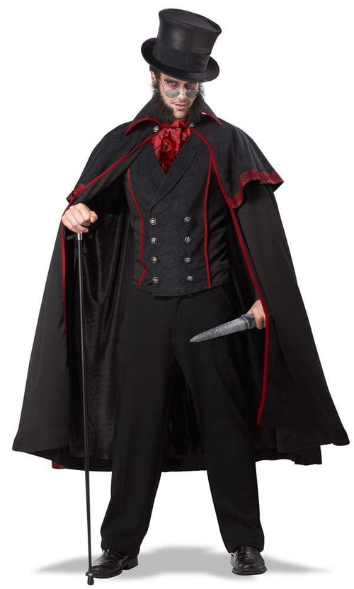California Costumes Costumes BLACK/RED / LARGE Jack The Ripper Costume