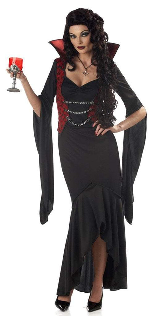 California Costumes Costumes BLACK/RED / LARGE Madame Macabre Vampire Costume