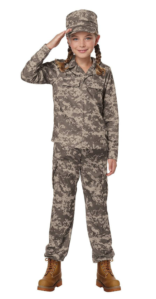 California Costumes Costumes Childs Army Soldier Costume