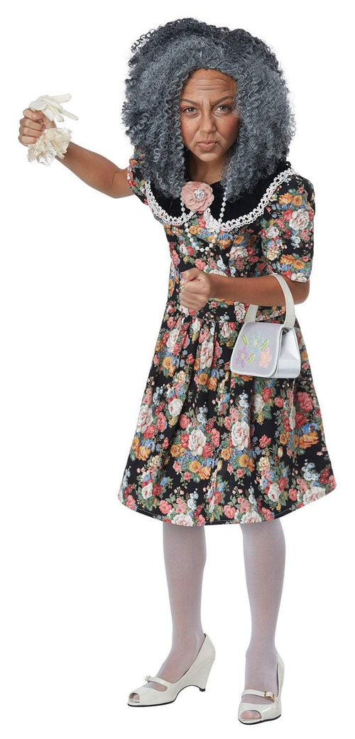 California Costumes Costumes Girls Fancy Nana Kit