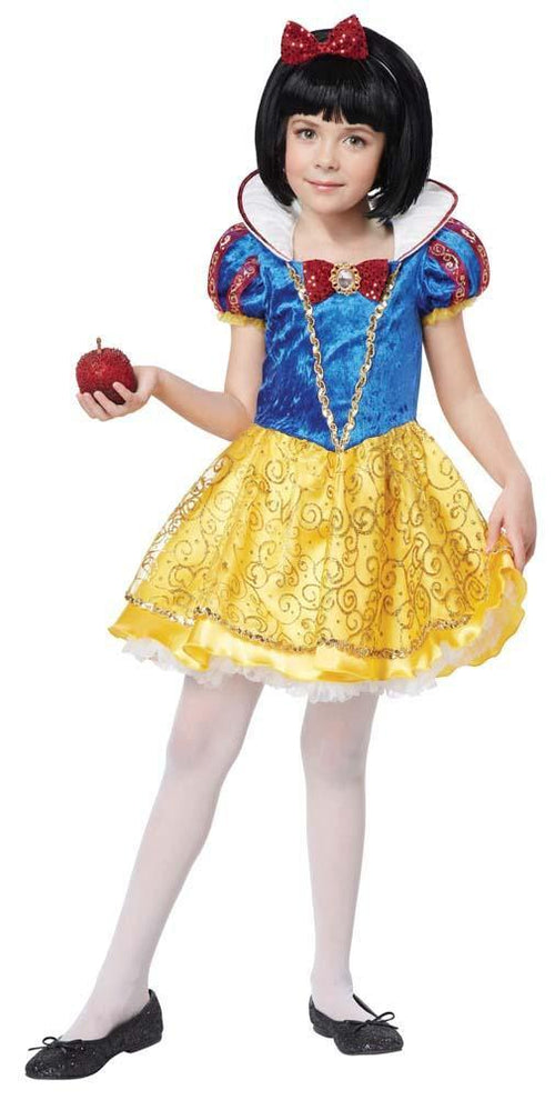 California Costumes Costumes Girls Snow White Deluxe Costume