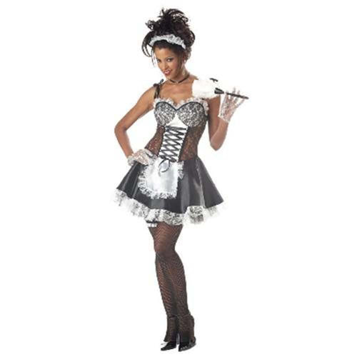 California Costumes Costumes LAGE Fi Fi Le Flirt Costume French Maid Costume