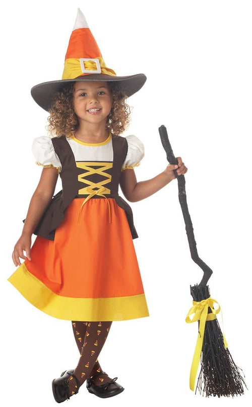 California Costumes Costumes LARGE (4-6) Toddler Girls Sweet Treat Witch Costume