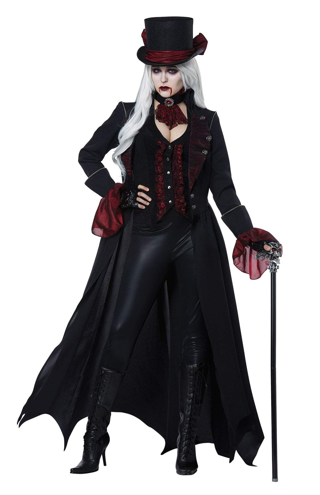 adult dress to kill vampire costume