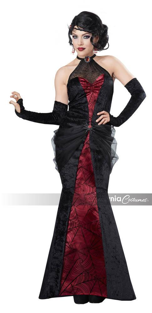 California Costumes Costumes LARGE Black Widow Costume