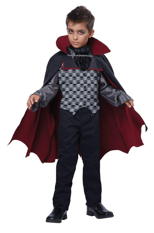 California Costumes Costumes LARGE Boys Count Bloodfiend Vampire Costume