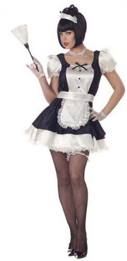 California Costumes Costumes LARGE Fiona The French Maid Costume