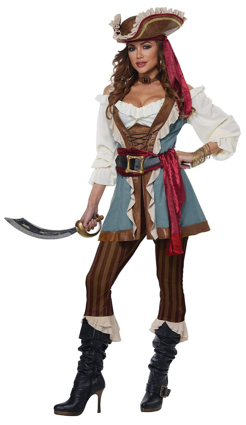 California Costumes Costumes LARGE Jewel Of The Sea Pirate Costume