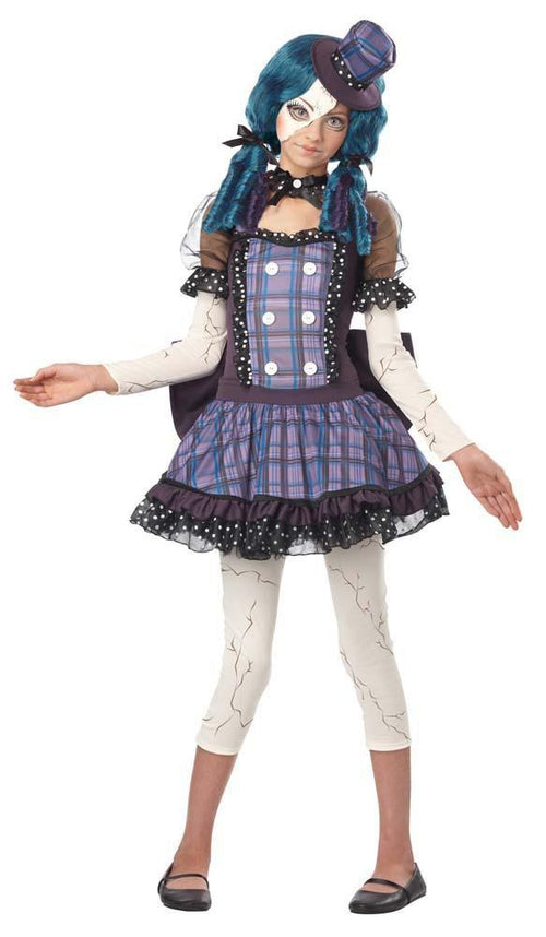 California Costumes Costumes LARGE Teen Girls Broken Doll Costume