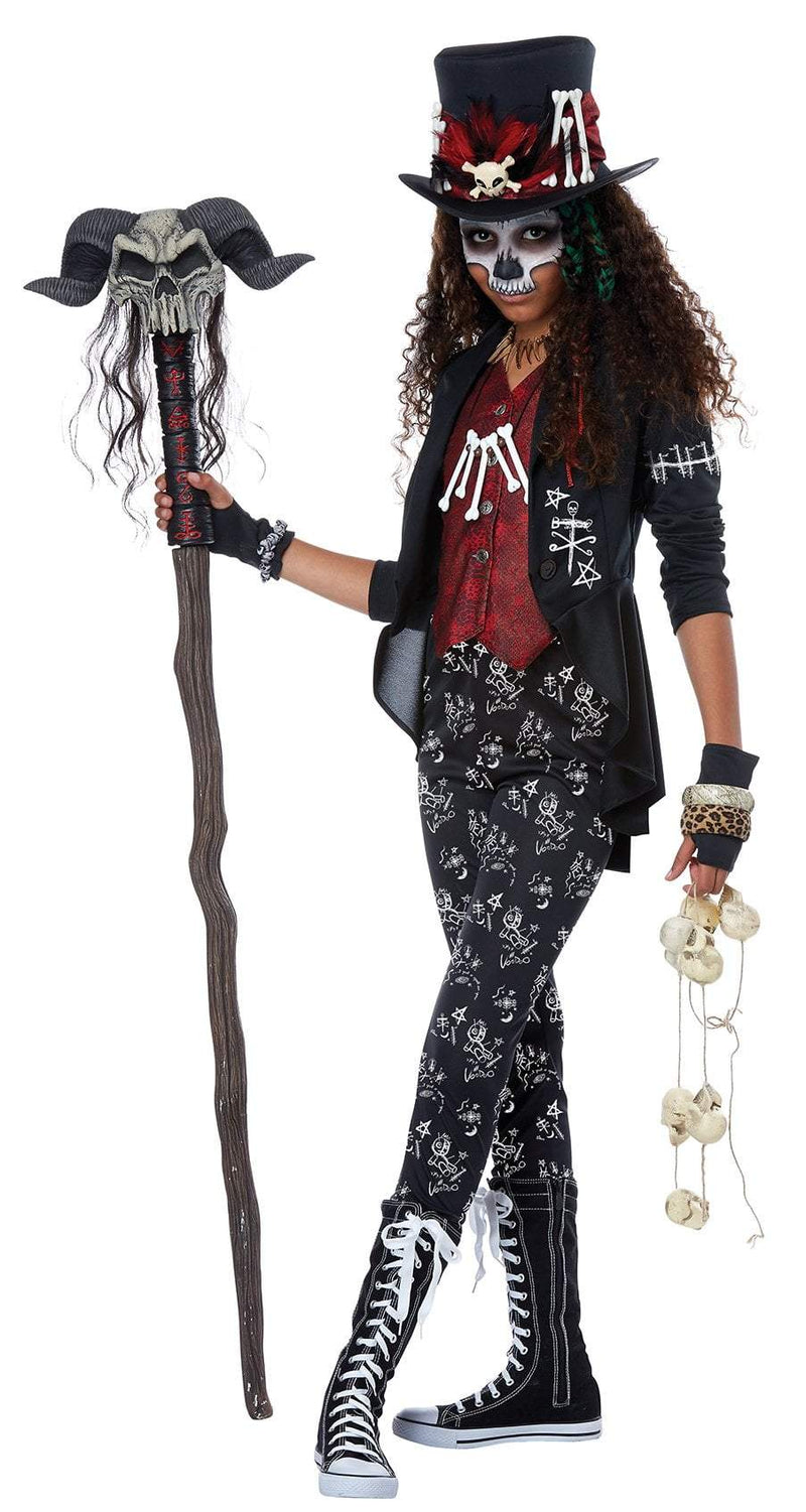 California Costumes Costumes LARGE Teen Voodoo Charm Costume