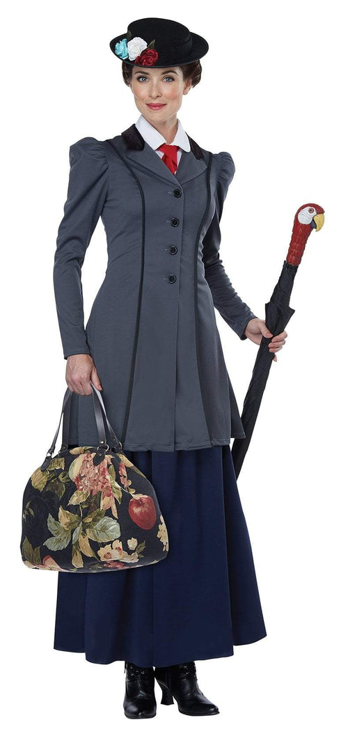 California Costumes Costumes LARGE Women's English Nanny Costume