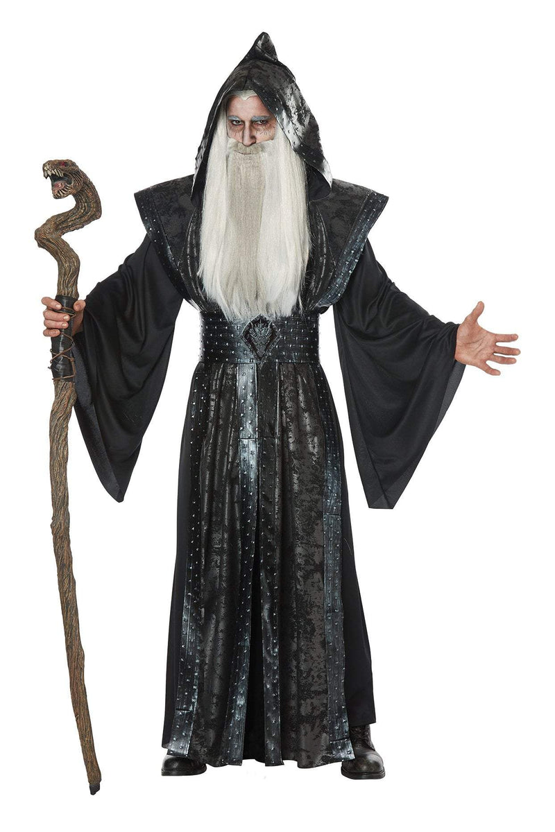 California Costumes Costumes LARGE/XLARGE Adult Dark Wizard Costume