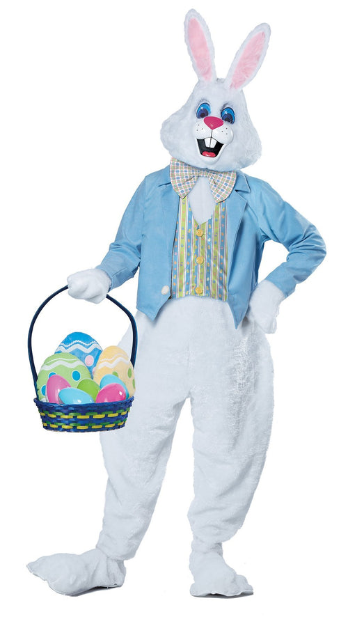 California Costumes Costumes LARGE/XLARGE Adult Deluxe Easter Bunny Costume