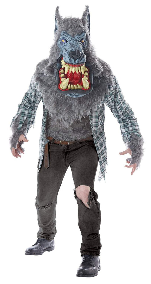 California Costumes Costumes LARGE/XLARGE Adult Monster Wolf Costume