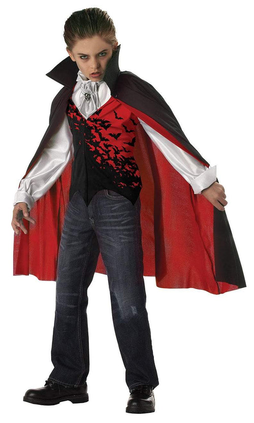 California Costumes Costumes RED/BLACK / LARGE Boys Prince Of Darkness Vampire Costume