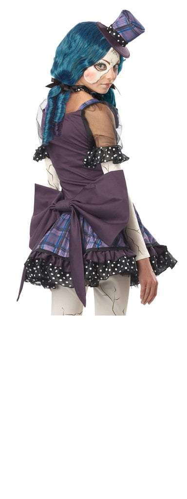 California Costumes Costumes Teen Girls Broken Doll Costume
