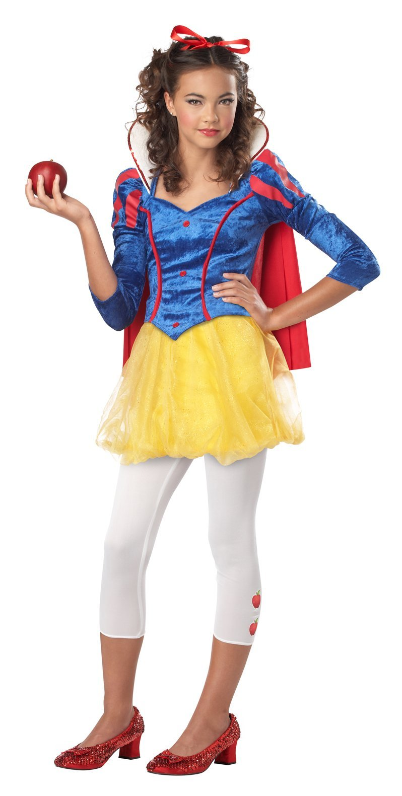 California Costumes Costumes Teen Girls Sassy Snow White Costume