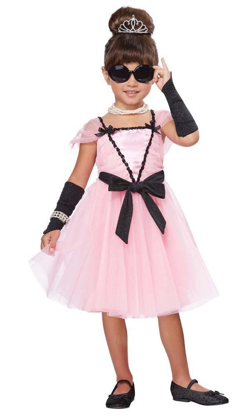 California Costumes Costumes Toddler Girls 50s Movie Star Costume