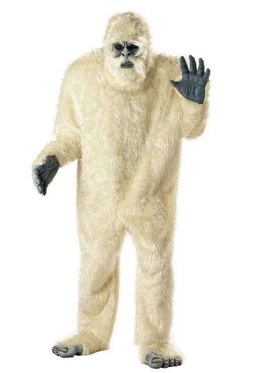 California Costumes Costumes WHITE Adult Abominable Snowman Costume